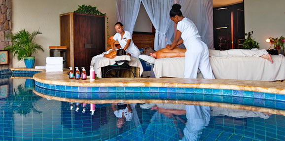 Kai en Ciel Spa at Jade Mountain St Lucia